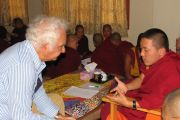 A series of lectures in a Buddhist monastery
