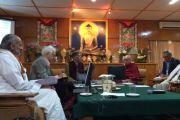 PLL visiting the Dalai Lama in Dharamsala 2015